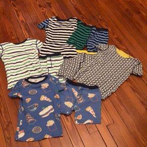 Lot of 4 pairs Crewcuts pajamas